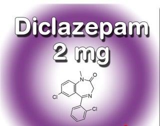 Buy Diclazepam 2 mg pellets online